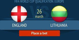 Англия - Литва