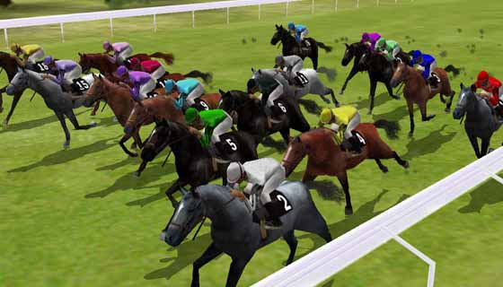 Виртуални надбягвания с коне